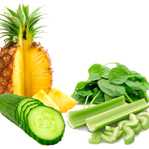 Cucumber/ Celery/ Spinach / Pine Apple